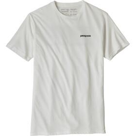 Patagonia P-6 Logo Organic Camiseta Hombre, white